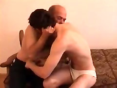 Mature and cubby amateur handjob Flip Flop