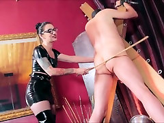 Strict mistress extreme caning