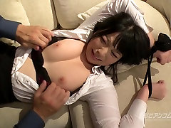 Tied up Busty Asian gisiie leon session - Ai Uehara - Uncensored