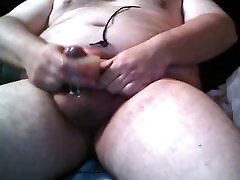 a little toy help for cum