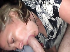 big show office wife gagging dick