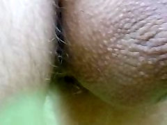 close-up of my naked dick in public