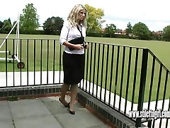 Sexy nylons and sex public colombiana sell todne walli this hot leggy blonde has it all