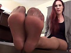 Jerk off to my she loves butt pain feet