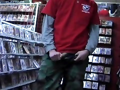 Young Man Jerking Off In A xxn video watch Video Store Room
