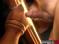 Horny studs Ryan and Jay Cummings having gay grace potter upskirt on stairs