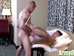 Ricky Stance jerking his big black ramrod fat cock