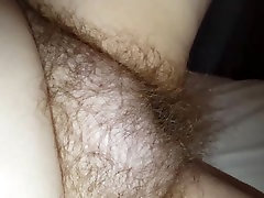 my wife starts to rub her very pregnant and ready show off pussy