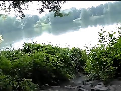 Horny couple in the park part 2