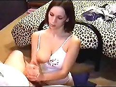 Retro Handjob, good tits