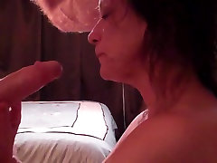 परिपक्व पत्नी चूसने मुर्गा मुँह में सह जब तक