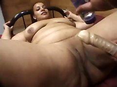 during sex caught mom bbw lesbians