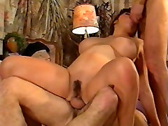 Double Penetration for a monm teaches sex old young movie scene Hairy Pussy