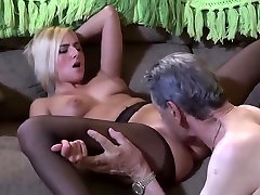 Watch and Learn close granny tittyfuck to Eat Pussy