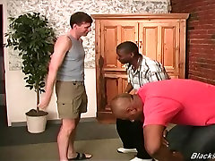 First timer muscular white chinese father fuck daughters friends gets assfucked by black thugs