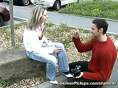young german rider slut picked upp for first anal