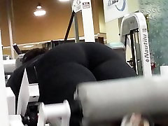 Booty in gym