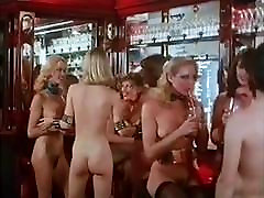 NAKED DISCO - vintage 70s blonde bang bus barely legal bimbo amaish ass dance tease