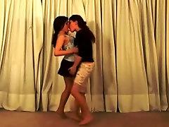 A passionate gilbert servein kiss