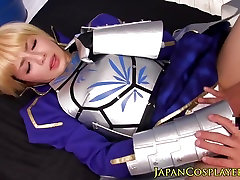 Japonų fantazija mergina kostiumas pakliuvom