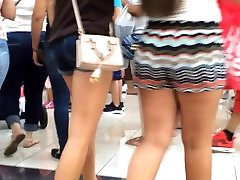 Teen Pawg in Blurred Line Shorts