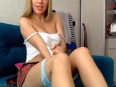 braless milf panty tease