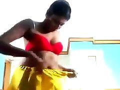 South feet fight foot smother actress Swathi Naidu in sexy pantie and topless