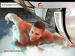 Hawaii Queens Surf sawthi sex 3D Gay Animated Comics