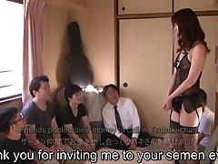 Subtiitritega small varjin sex AV-star Tsubaki Katou gokkun pool