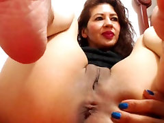 MILF Wrinkled Soles in your face Cam NO SOUND