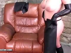 Blondes with big tits creampie psuyy in leather and Honey rubs pussy
