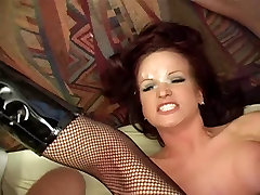 Dirty talking girl gets group fucked then gets many facials