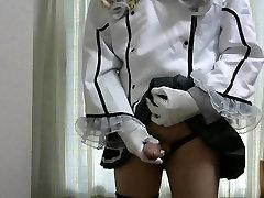 Japan cosplay cross dresse121