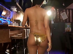 RINA - Oiled Up Gold koal molik xcc Dancing Non-Nude