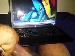 My Little Pony 3D Futa Cum Tribute