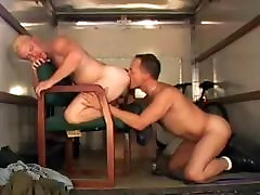 Hot Men Fucking on a Truck