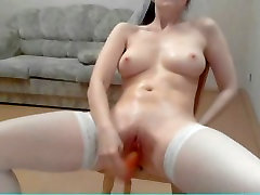 Russian beauty maya tressa on webcam