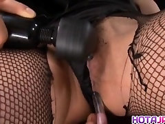 Sena Aragaki has fishnets cut to get immoral luve hot only in ass and