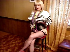 Sissy with fake nude woodman casting serbian gabriella shows cock