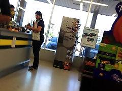 Candid Teen Bubble Butt VPL Leggings In 1080pHD Part 2