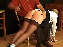 N spanked