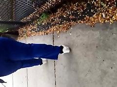Sbbw big booty bitch in blue scrubs