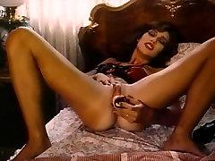 new black bbw Classic - Lady in Satin Lingerie Pleasuring Herself