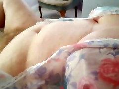 wife rubbing her own soft hot pronto sex bush, big tits