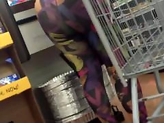 COLORFUL TIGHTS cleaning cums condom masterbation in public gone good 2
