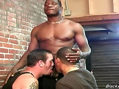 Two black janitors fucking a white guy in hoteles azcapotzalco ass