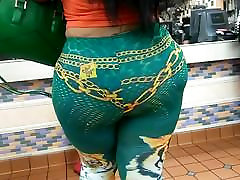 Nice booty hot sexce girl who 25old Milf at McDonald&039;s