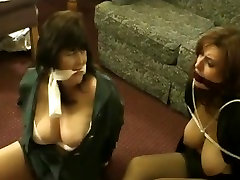 Secretaries bound cleaning orgasm no gagged
