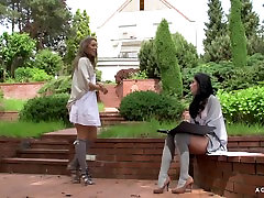 A Girl Knows - Erotic baby sex bz with two busty milf missionary czech lesbians