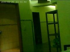 Hidden hostel hot video in Sauna Shower area 2